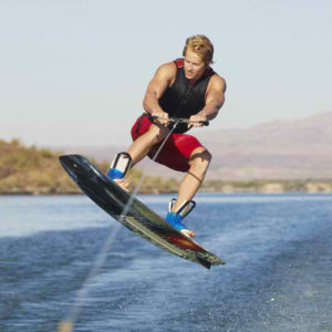 """Wake Boarding Lake Mead"""