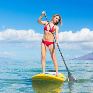 """Paddle Boarding Lake Mead"""